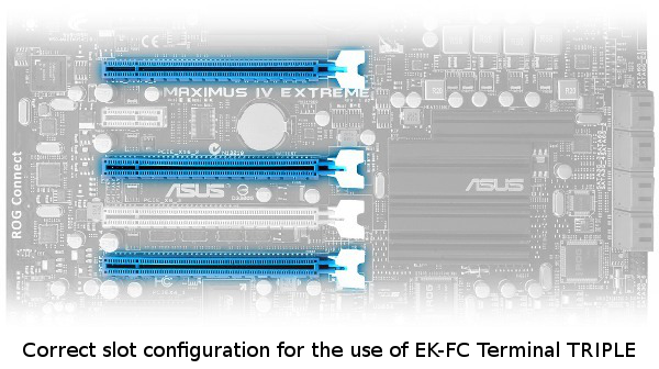 Жесткий мост EK-FC Terminal TRIPLE